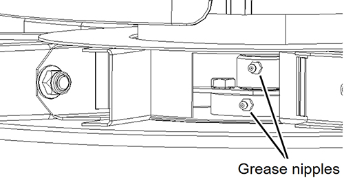 ディスクの回転軸(RO-XLモデル,RO-EDWモデル,GEOSPREADモデル)