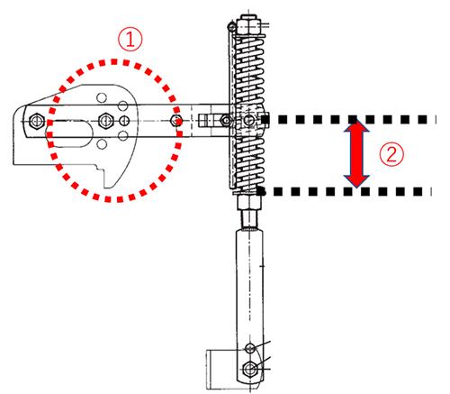 リアボンネット(均平板)の調整2