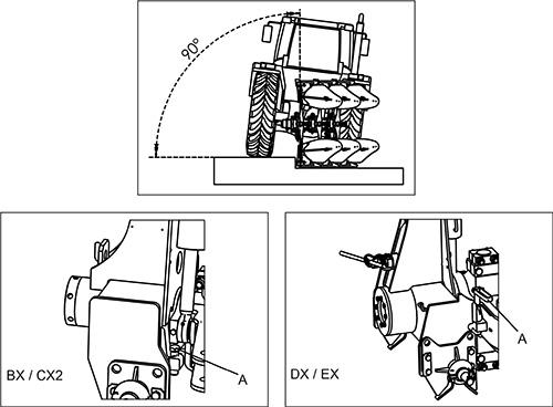 プラウの基本設定(垂直)調整
